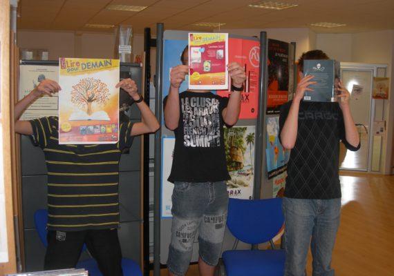 Les élèves du dispositif ULIS ont participé à « Lire pour demain »