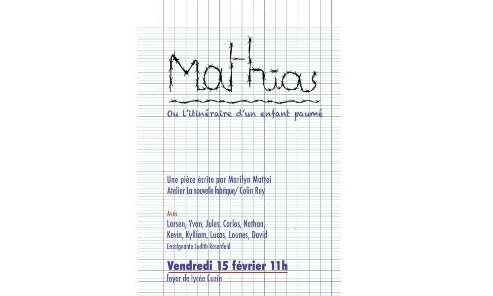 Mathias ou l'itinéraire d'un enfant paumé