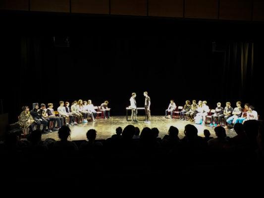 Les Première AFOR au théâtre de l'Astrée  « Quelle catastrophe ! »  « Une belle expérience !!! »
