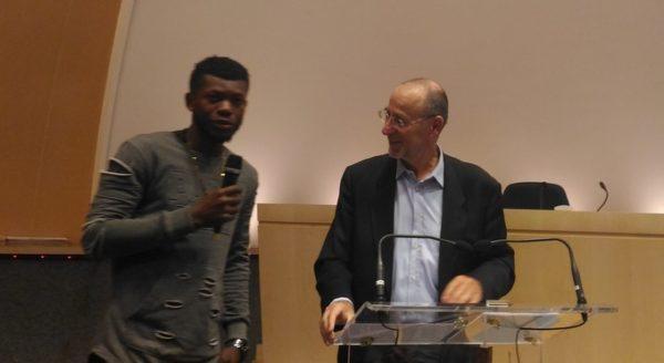 Les CAP à l'honneur avec un prix de la Fédération Française du Bâtiment décerné à Joël Nzuzi