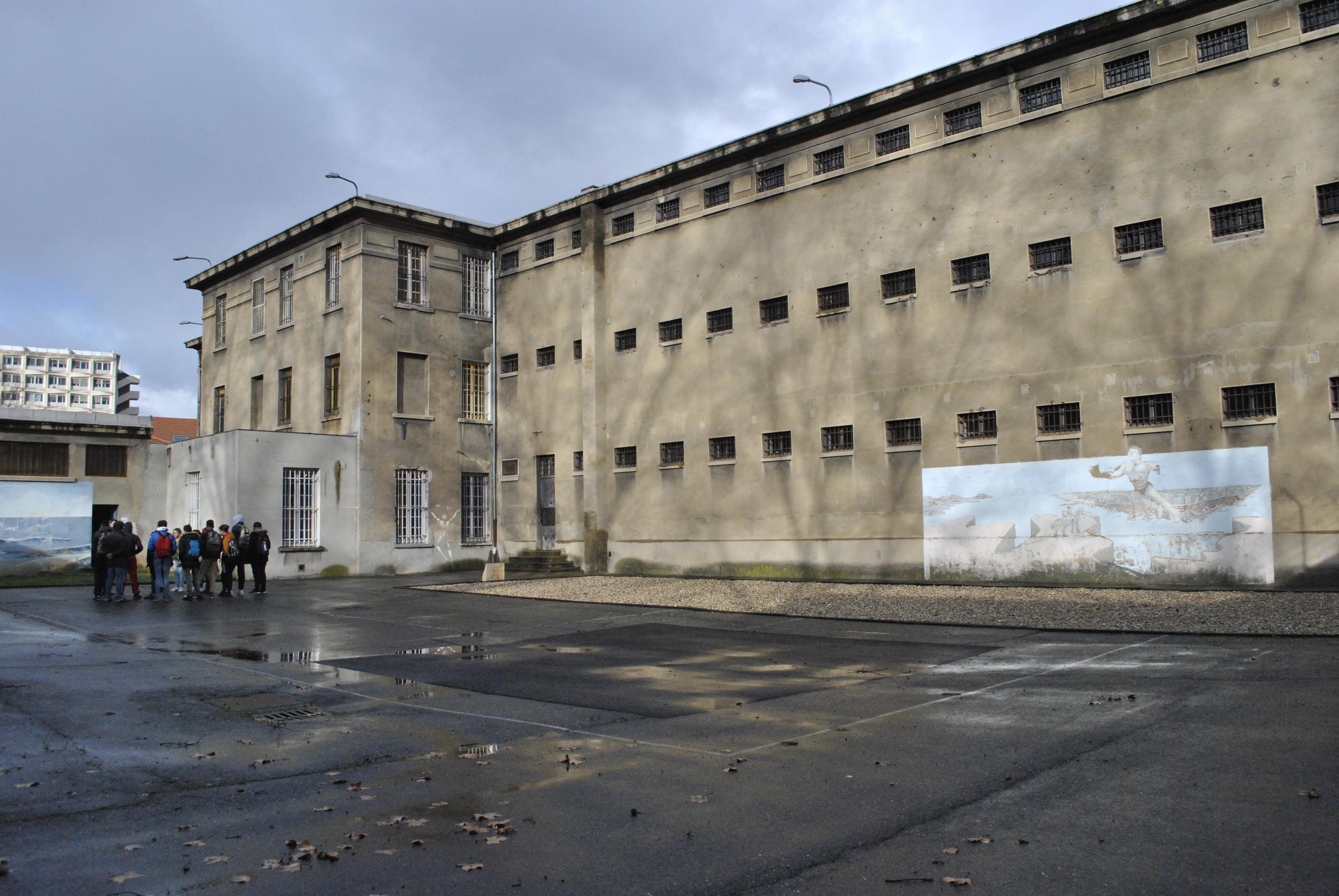 Visite de la prison Montluc